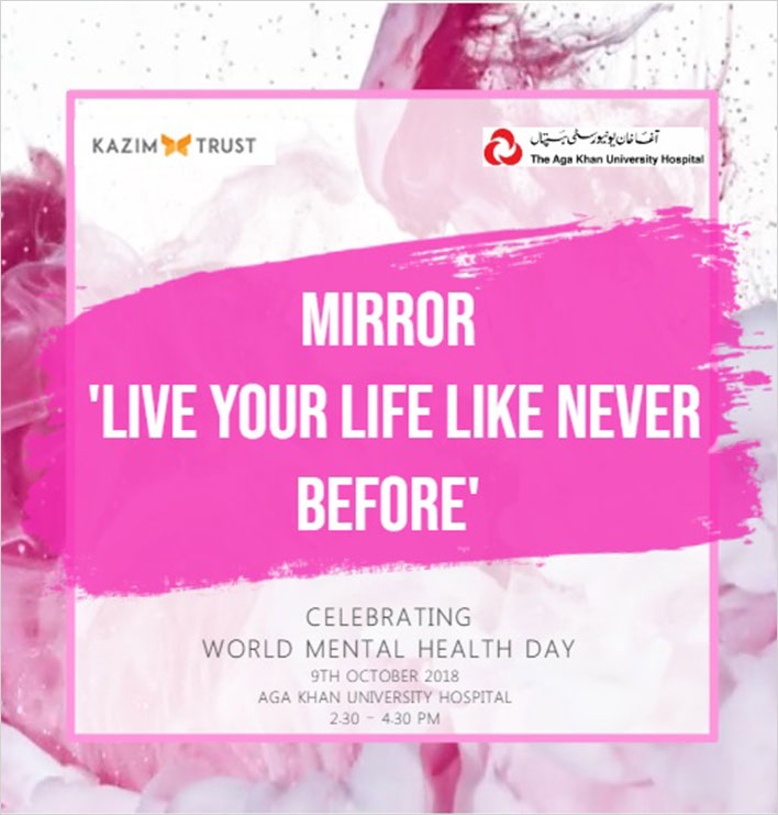 Kazim Trust | 09 Oct -Celebrating World Mental Health Day