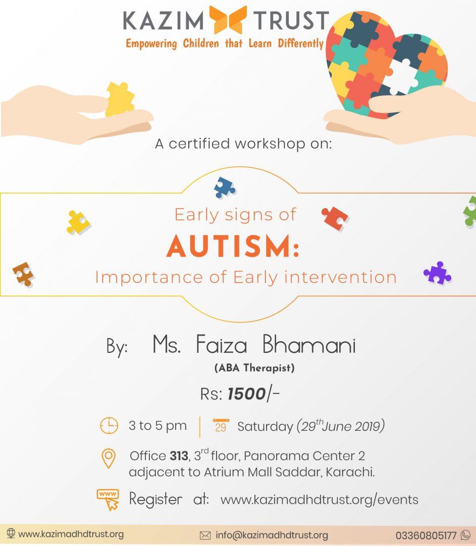 Workshop By Faiza Bhamani