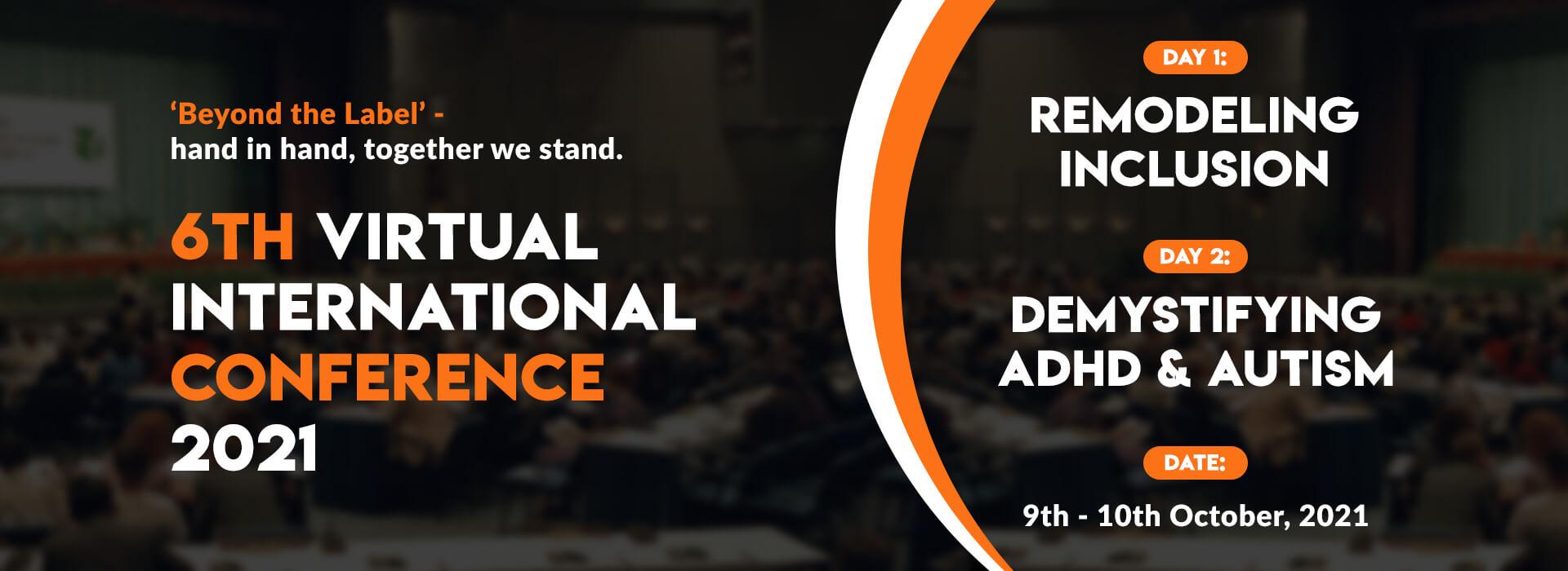 6th Virtual International Conference 2021